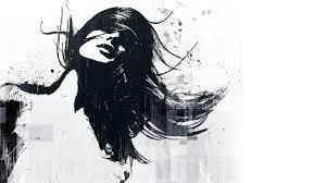 Sfondi Viso Disegno Illustrazione Donne Monocromo Opera D