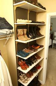1 clever and easy ways to organize your shoes diy crafts comfortable how build a shoe
