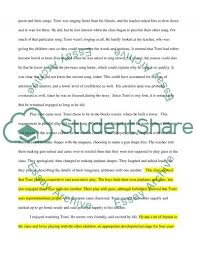 Essay On Classroom Observation
