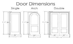 Standard Bedroom Window Sizes Bedroom Door Dimensions Exterior Chart Bedroom  Door Height