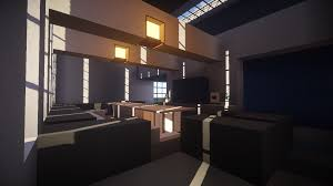Minecraft Living Room Modern Living Room With Shaders Minecraft