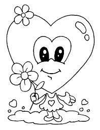 Hartje Verliefd Wil Je Mijn Valentijn Zijn Kleurplaat