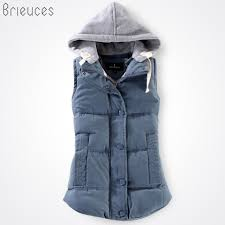 2019 <b>Brieuces Autumn And Winter</b> Vest Women 2017 Cotton Vest ...