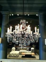 restoration hardware chandelier floor lamp crystal casbah restor