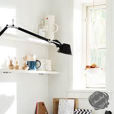 artemide tolomeo classic wall lamp with arms