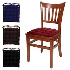 Kitchen Chair Cushions With Ties kenangorguncom