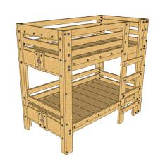 diy twin bunk beds. Delighful Twin Twin Bunk Bed Plan In Diy Beds S
