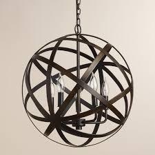 nice black orb chandelier 25 best ideas about orb chandelier on modern kitchen