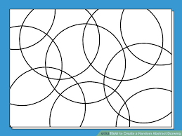 abstract drawing how to create a random abstract drawing 11 steps with pictures
