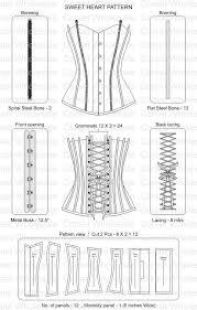 Corset Sewing Pattern