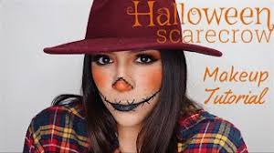scarecrow makeup tutorial alexa garcia