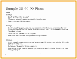 30 60 90 Day Plan Template Example - Fast.lunchrock.co