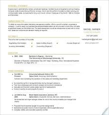 Canadian Resume Template Free Templatefree Ml