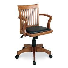 deluxe wooden home office. Office Star OSP Designs Deluxe Wood Bankeru0027s Chair With Vinyl Padded Seat In Fruit Finish Black Wooden Home I