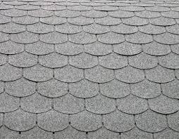 Dach Gedeckt Mit Schwarzen Fliesen Kachelofen Bau