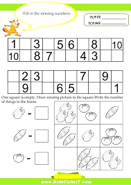 Math Worksheets For Grade 1 Sums With Missing Addend Printable ...