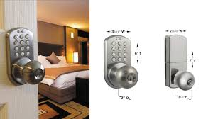 Decorating electronic keyless door lock pictures : MiLocks DKK 02SN Indoor Electronic Touchpad Keyless Entry Door ...