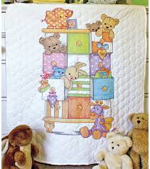 Dimensions Baby Hugs Baby Drawers Quilt Stamped Cross Stitch Kit ... & Dimensions Baby Hugs Stamped Cross Stitch Kit Quilt Baby Drawers Adamdwight.com