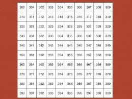 Number Chart 100 To 999 Bedowntowndaytona Com