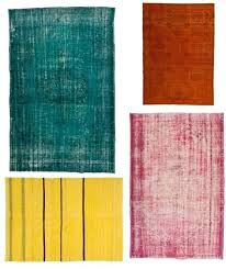 overdyed rug have you seen the rugs curly flooding the home decor market its hard to resist the bright saturated colors and unique character of these