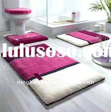 rug sets alluring hot pink bathroom rugs enjoyable design rose fl light target