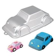 Aluminium 3d Car Cake Tin Pan Mould By Mister Chef Amazoncouk