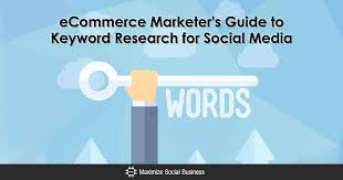 eCommerce Marketer's Guide to Keyword Research for Social Media