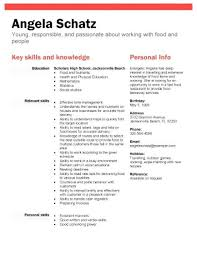 Resume For High School Students Beautiful Sample Of A Resume For A