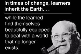 Great Quotes on Leadership, Learning, and Change – Advanture ... via Relatably.com