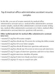 topmedicalofficeadministrativeassistantresumesamples lva app thumbnail jpg cb