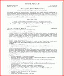 Unique Accounting Manager Resume Examples Mailing Format