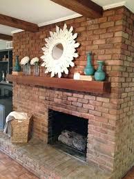 brick fireplace mantel decor photo 1 of 7 best brick fireplace decor ideas on fire place brick fireplace mantel decor