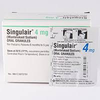 Singulair Oral Granules Dosage Rx Info Uses Side Effects
