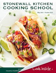 stonewall kitchen cooking course guide