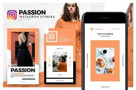 Passion Instagram Stories Pack By Onurcan Erdem On