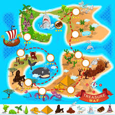 pirate treasure map vinyl wall mural other other