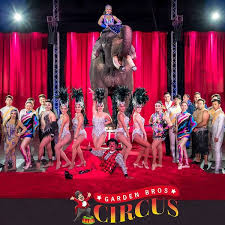 garden bros circus for two s and two children on july 3 or 6