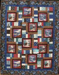 Flannel Quilt Patterns Unique Winter Forest Flannel Quilt Kit By Holly Taylor For Moda
