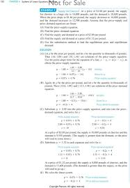a find the supply equation b find the demand