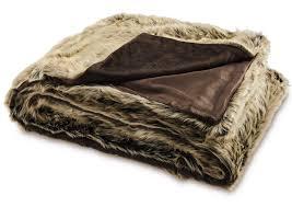 faux fur throw aldi