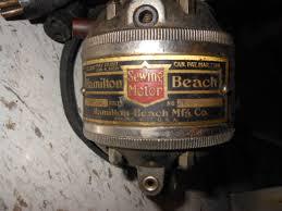 Hamilton Beach Sewing Machine Motor