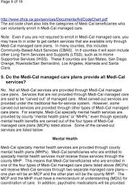 Dhcs Aid Code Chart Medi Cal Managed Care S In California Business Plans L