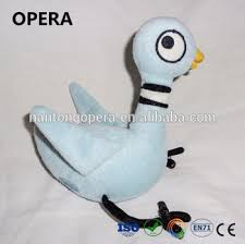 good quality new gifts factory direct soft blue bird the pigeon plush stuffed s