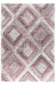 lavender rug diamonds silver mauve wool runner 5x8 purple area for nursery