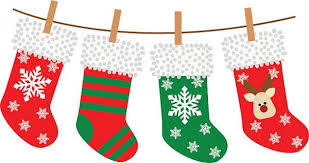 Image result for christmas stockings clip art