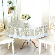 vinyl table cloth fabric waterproof wipe clean round tablecloth dining kitchen cover protector oilcloth fitted