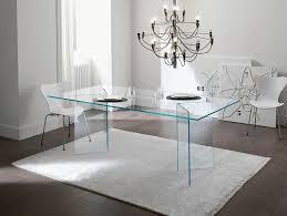Italian Glass Dining Table Nella Vetrina Tonelli Bacco Contemporary Italian Designer Dining Table
