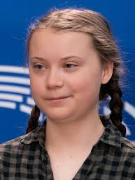 File:Greta Thunberg at the Parliament (46705842745) (cropped).jpg -  Wikipedia