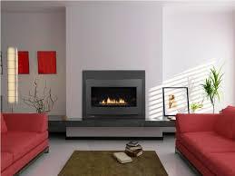modern gas fireplace houzz