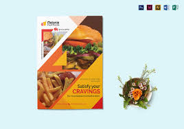 Flyer Design Food Delicious Fast Food Flyer Design Template In Psd Word Publisher